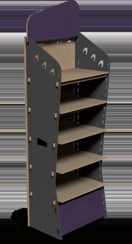 Illustration du présentoir R-Lock